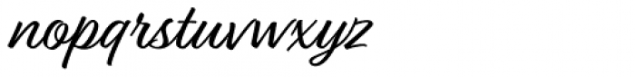 Relation Font LOWERCASE