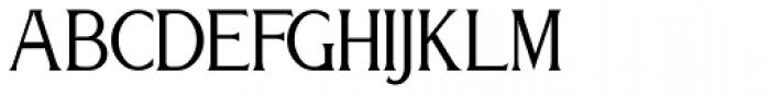 Relativity Font UPPERCASE