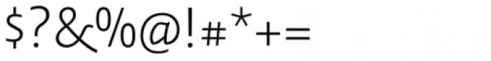Relato Sans Light Font OTHER CHARS