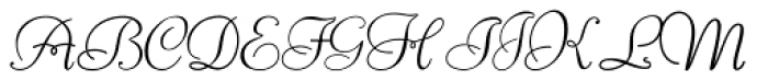 Reliant Font UPPERCASE