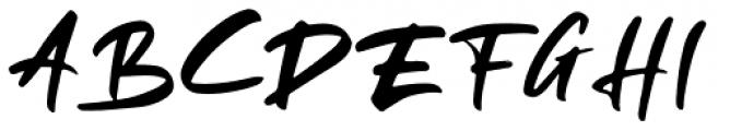 Rellive Regular Font UPPERCASE