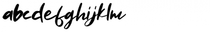 Rellive Regular Font LOWERCASE