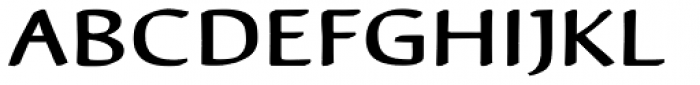 Reluxed Expanded Font UPPERCASE