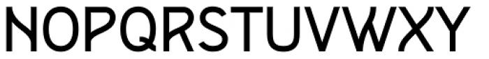 Remah Regular Font UPPERCASE