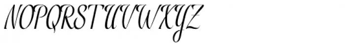 Rembord Regular Font UPPERCASE