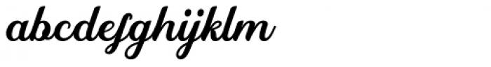 Rembulan Regular Font LOWERCASE