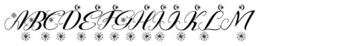 Rembullan Holidays Font UPPERCASE