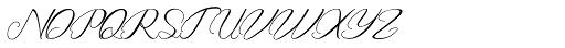Rembullan Light Font UPPERCASE