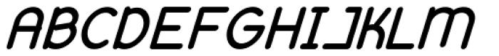 Remedia Black Italic Font UPPERCASE