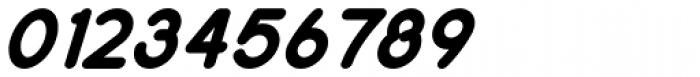 Remedia ExtraBlack Italic Font OTHER CHARS