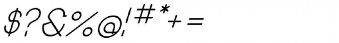 Remedia Italic Font OTHER CHARS