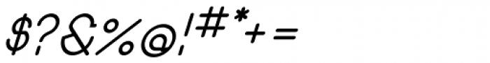 Remedia SemiBold Italic Font OTHER CHARS