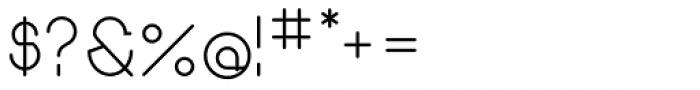 Remedia Font OTHER CHARS