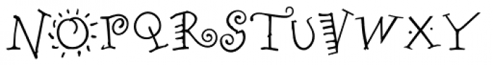 Remedy Single Font UPPERCASE