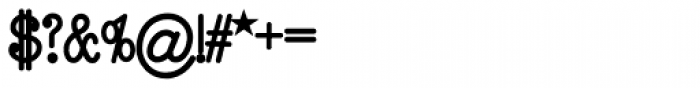 Remington Elite Typewriter Bold Font OTHER CHARS