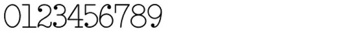 Remington Elite Typewriter Font OTHER CHARS
