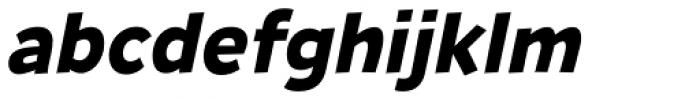 Remissis Bold Italic Font LOWERCASE