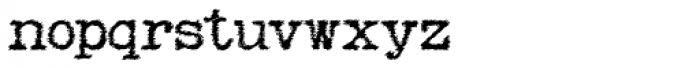 Remix Trash Font LOWERCASE