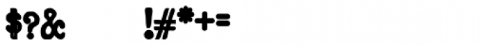 Remix Typewriter Bold Font OTHER CHARS