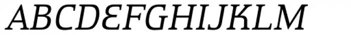 Remontoire OT Italic Font UPPERCASE