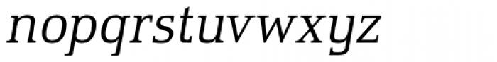 Remontoire OT Italic Font LOWERCASE