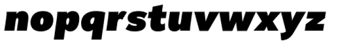 Remora Corp W2 Ultra Italic Font LOWERCASE