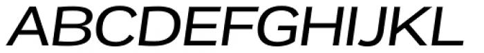 Remora Corp W4 Medium Italic Font UPPERCASE