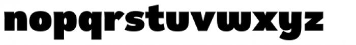 Remora Sans W2 Ultra Font LOWERCASE