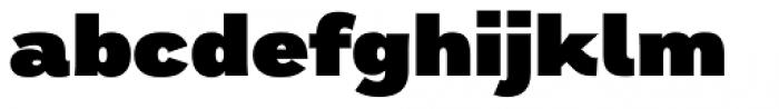 Remora Sans W3 Ultra Font LOWERCASE