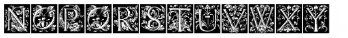 Renaissance Caps BA Font UPPERCASE