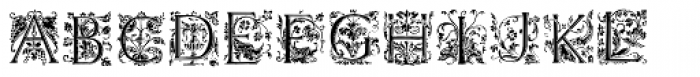 Renaissance Caps BA Font LOWERCASE