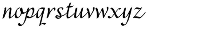 Rendezvous Font LOWERCASE