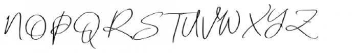 Renitta Regular Font UPPERCASE