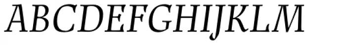 Renner Antiqua Pro Italic Font UPPERCASE