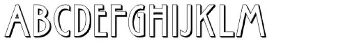 Rennie Mackintosh Hillhouse Font UPPERCASE