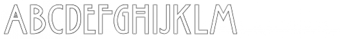 Rennie Mackintosh Scotland St Font UPPERCASE