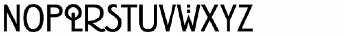 Rennie Mackintosh Std Bold Font LOWERCASE