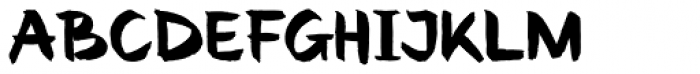 Renovation Font UPPERCASE