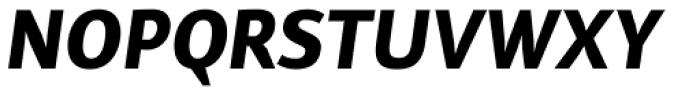 Reon Sans ExtraBold Italic Font UPPERCASE