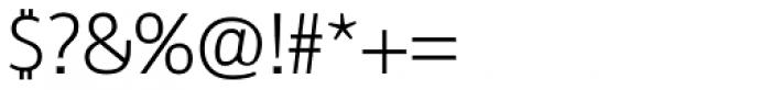 Reon Sans Light Font OTHER CHARS