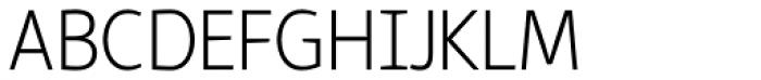 Reon Sans Light Font UPPERCASE