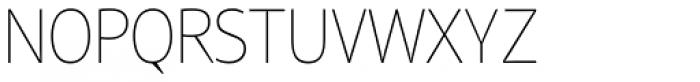 Reon Sans UltraLight Font UPPERCASE