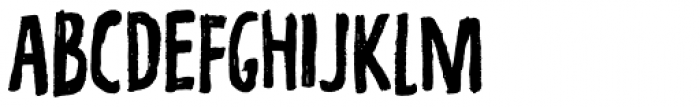Repetition Font UPPERCASE