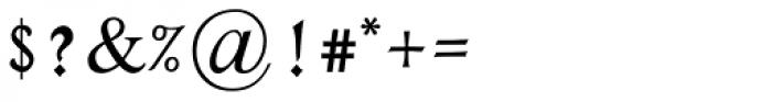 Rephael MF Medium Font OTHER CHARS