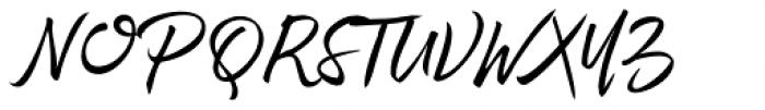 Rephone Alternate One Font UPPERCASE