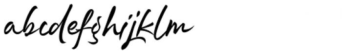 Rephone Alternate One Font LOWERCASE