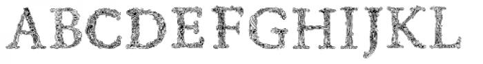 Rephran Font UPPERCASE