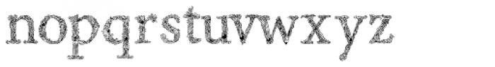 Rephran Font LOWERCASE