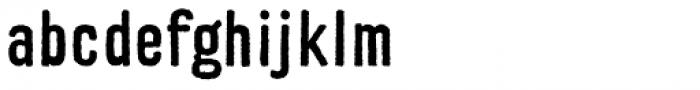 Replica Rough SG Bold Font LOWERCASE