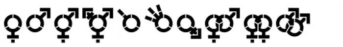 Represent Stencil Demi Bold Font LOWERCASE